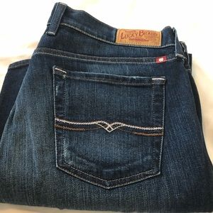 Lucky Brand Bootcut Jeans, Size 14, Shoer Inseam